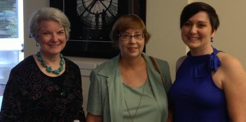 Diane Gramann, Susan Hatfield, Jeni Woods